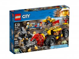 LEGO 60186 City Ciężkie wiertło górnicze
