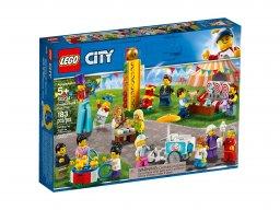 LEGO City 60234 Wesołe miasteczko - zestaw minifigurek