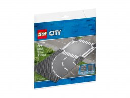 LEGO City Zakręt i skrzyżowanie 60237