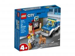 LEGO 60241 City Oddział policyjny z psem