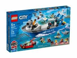 LEGO 60277 City Policyjna łódź patrolowa