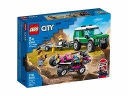 LEGO City 60288 Transporter łazika wyścigowego