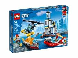 LEGO City 60308 Akcja nadmorskiej policji i strażaków