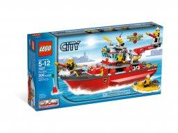 LEGO City Łódź straży pożarnej