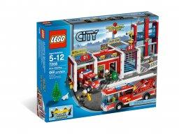 LEGO City Remiza 7208