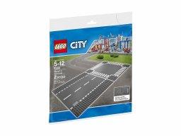 LEGO City 7280 Odcinek prosty i skrzyżowanie