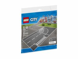 Lego City 7281 Skrzyżowanie i zakręt
