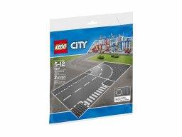 LEGO 7281 Skrzyżowanie i zakręt
