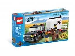 LEGO City 7635 Samochód terenowy z przyczepą na konie