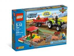 LEGO 7684 Hodowla świń i traktor