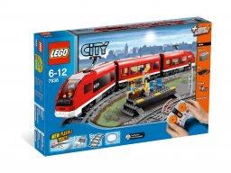 LEGO 7938 City Pociąg osobowy