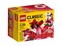 Lego Classic Czerwony zestaw kreatywny 10707
