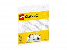 LEGO Classic Biała płytka konstrukcyjna 11010