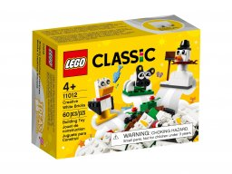 LEGO Classic 11012 Kreatywne białe klocki