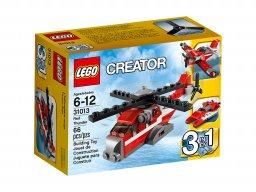 LEGO 31013 Creator 3 w 1 Czerwony Grom