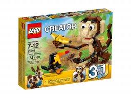 LEGO 31019 Creator 3 w 1 Zawadiackie zwierzęta