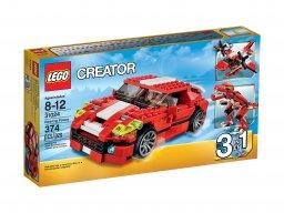 LEGO 31024 Creator 3 w 1 Czerwone konstrukcje