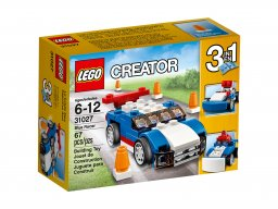 LEGO 31027 Creator 3 w 1 Niebieska wyścigówka