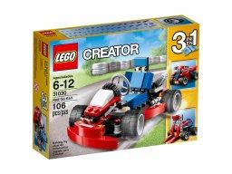 LEGO Creator 3 w 1 31030 Czerwony gokart