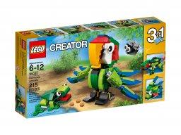 LEGO 31031 Creator 3 w 1 Zwierzęta z lasu deszczowego