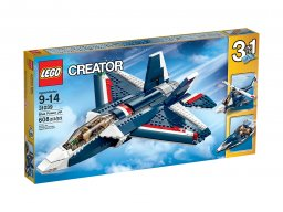 LEGO Creator 3 w 1 Błękitny odrzutowiec 31039