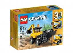 LEGO Creator 3 w 1 Pojazdy budowlane 31041