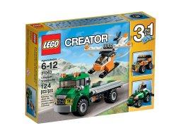 LEGO Creator 3 w 1 Transporter helikopterów 31043