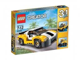 LEGO Creator 3 w 1 Samochód wyścigowy 31046