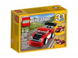 LEGO Creator 3 w 1 Czerwona wyścigówka