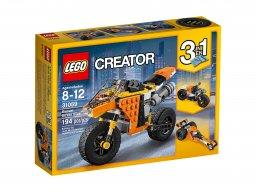 LEGO Creator 3 w 1 Motocykl z Bulwaru Zachodzącego Słońca