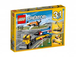 LEGO Creator 3 w 1 Pokazy lotnicze 31060