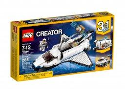 Lego Creator 3 w 1 Odkrywca z promu kosmicznego 31066