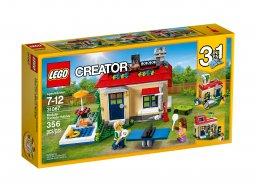 LEGO Creator 3 w 1 Wakacje na basenie