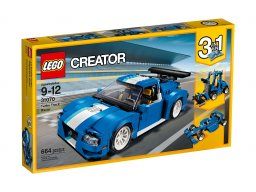 Lego Creator 3 w 1 31070 Track Racer Turbo