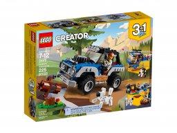 LEGO Creator 3 w 1 Zabawy na dworze 31075