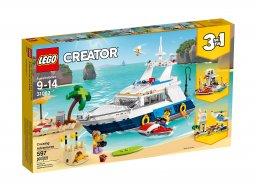 Lego Creator 3 w 1 Przygody w podróży