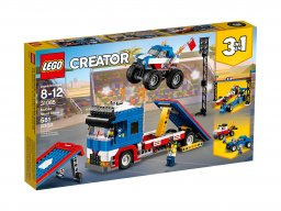 Lego Creator 3 w 1 Pokaz kaskaderski 31085