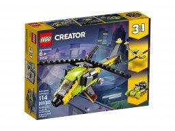 LEGO Creator 3 w 1 Przygoda z helikopterem 31092