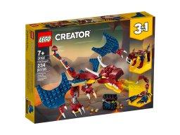 LEGO Creator 3 w 1 31102 Smok ognia