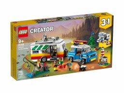 LEGO 31108 Creator 3 w 1 Wakacyjny kemping z rodziną