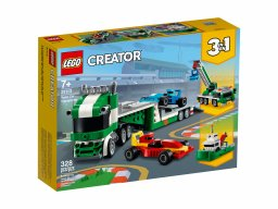 LEGO Creator 3 w 1 31113 Laweta z wyścigówkami