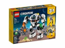 LEGO Creator 3 w 1 Kosmiczny robot górniczy 31115