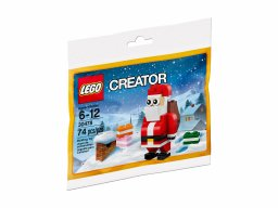 LEGO 30478 Wesoły Mikołaj