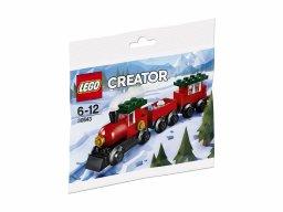 LEGO Creator 30543 Świąteczny Pociąg
