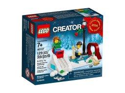LEGO Creator 40107 Winter Skating Scene