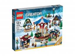 LEGO Creator Expert 10235 Targ w zimowej wiosce