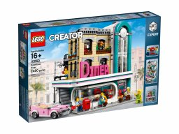 LEGO Creator Expert Bistro w śródmieściu 10260