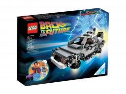 LEGO 21103 CUUSOO Wehikuł czasu DeLorean