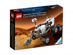LEGO CUUSOO Łazik NASA Curiosity Mars Science Laboratory 21104