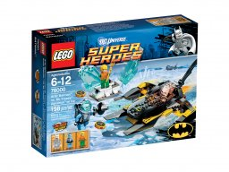 LEGO 76000 DC Comics™ Super Heroes Batman™ kontra Mr. Freeze™: Aquaman™ na lodzie